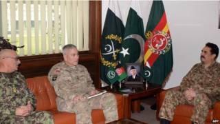 अफ़गानिस्तान, पाकिस्तान, सेना