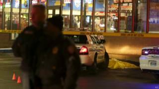 Заправочная станция в пригороде Сент-Луиса оцеплена полицией
