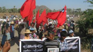 Letpadaung Protests