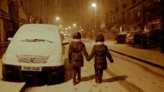 冬天对谁都很难熬, 但朋友却给出了正能量
