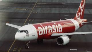 Avião da AirAsia (foto: Reuters)