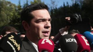 Alex Tsipras, líder da oposição grega