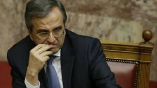 Firayim ministan Girka Antonis Samaras