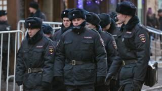 रूस में पुलिस