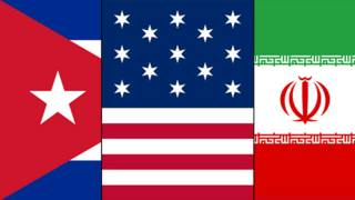 ایران آمریکا کوبا