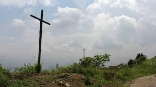 Cruz em Medellin