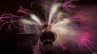 नए साल का स्वागत