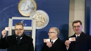 Euro, Lituania