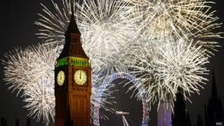 Big Ben e London Eye (foto: BBC)