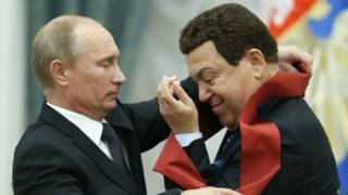 Иосиф Кобзон и Путин