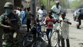 नाइजीरियाई सैनिक, फ़ाइल फोटो