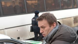 Навальный на Манежной