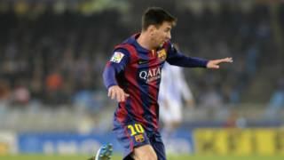 巴塞羅那前鋒梅西