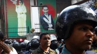 बांग्लादेश विपक्षी नेता हिरासत