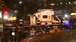 После взрыва в Стамбуле