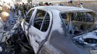 Coche bomba en Yemen