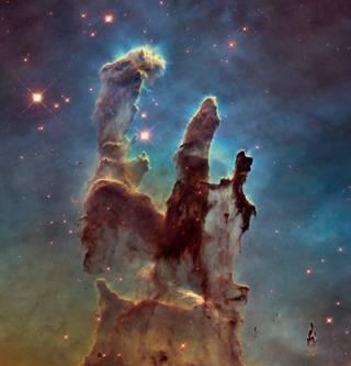 Hubble capta imagem de alta resolução de nebulosa icônica