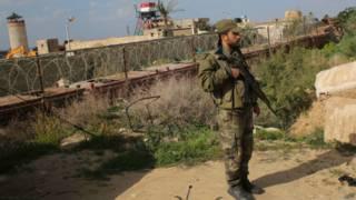 Zona de protección entre Egipto y Gaza