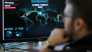 Карта кибератак
