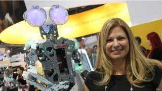 Robot en el CES de Las Vegas