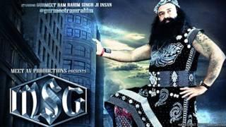 राम रहीम सिंह, एमएसजी