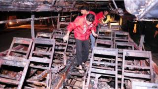 पाकिस्तान बस दर्घटना, 30 की मौत