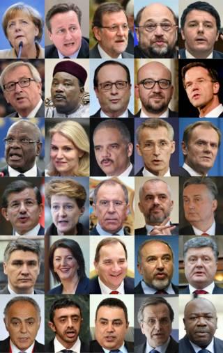Paris: presença de alguns líderes mundiais em marcha é criticada