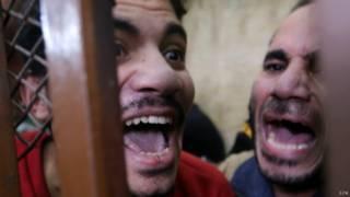 Terdakwa di Mesir
