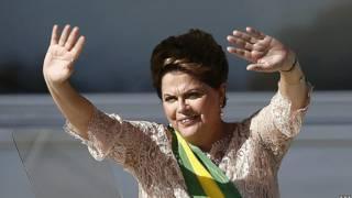 Admitindo problemas, Dilma culpa crise internacional e seca inesperada
