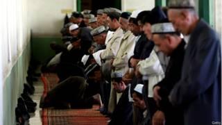 शिन्झियांग के अल्पसंख्यक मुस्लिम समुदाय