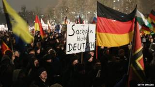 德雷斯頓的「反對西方伊斯蘭化」遊行