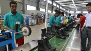مصنع صيني في أفريقيا