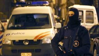 Policía belga en Verviers