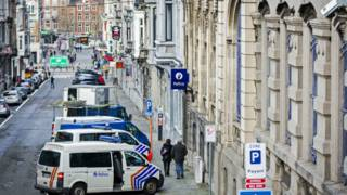Verviers, na Bélgica, onde ação antiterror resultou em duas mortes (AFP)