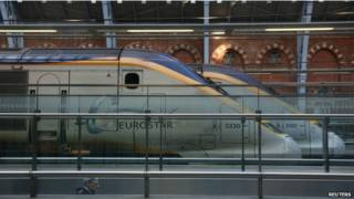 Поезда Eurostar