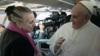 69号记者与教皇见面