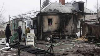 Разрушения на Украине