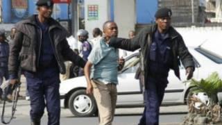 Abafashwe n'igipolisi cya Congo