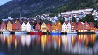 Bergen, na Noruega | Foto: Thinkstock