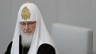 патриарх Кирилл в Думе