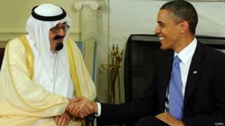 Obama, Abdulá