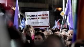 Eleições na Grécia / Crédito: Getty