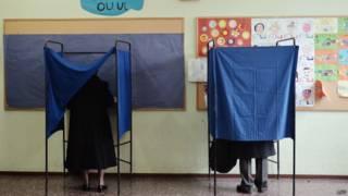 Кабинки для выборов