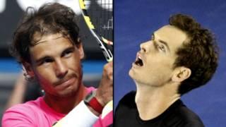 Andy yatsinze Nadal