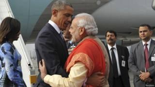 ओबामा और नरेंद्र मोदी