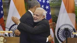 ओबामा और मोदी