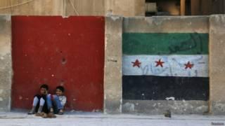 Флаг сирийской оппозиции