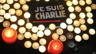 Плакаты Charlie Hebdo