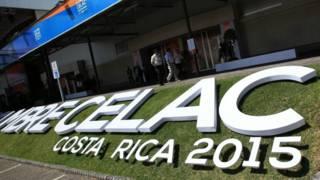 Local onde acontecerá a Celac em San Jose, Costa Rica   Foto: EPA