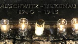 свечи в лагере Освенцим